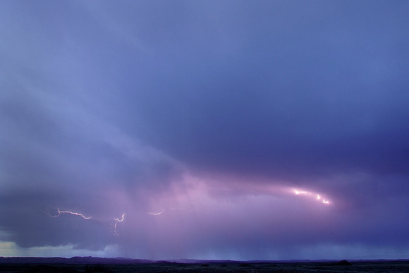 Storm over the Colorado Plateau